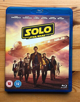 Solo A Star Wars Story Blu-ray.