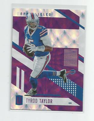 2017 Unparalleled  TYROD TAYLOR   Purple  Future Frame  82/99