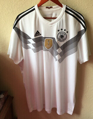 Germany DFB Adidas Player Fussball/Soccer Trikot/Jersey Climalite New 2014 w/Tag image