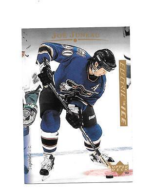 1995-96 Upper Deck OVERSIZED Electric Ice #25 Joe Juneau Washington Capitals