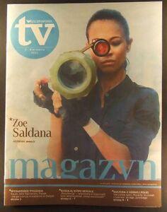 ZOE SALDANA mag.FRONT cover, Poland No.35/2011 Philippe Petit - <span itemprop=availableAtOrFrom>europe, Polska</span> - Zwroty są przyjmowane - europe, Polska