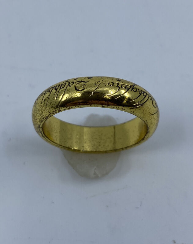 Lord of the Rings One Ring Size 9 3/4 WETA by Jens Hansen
