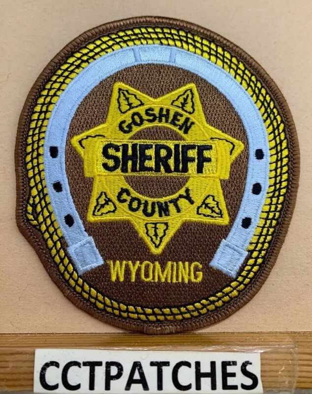 GOSHEN COUNTY, WYOMING SHERIFF (POLICE) SHOULDER PATCH WY