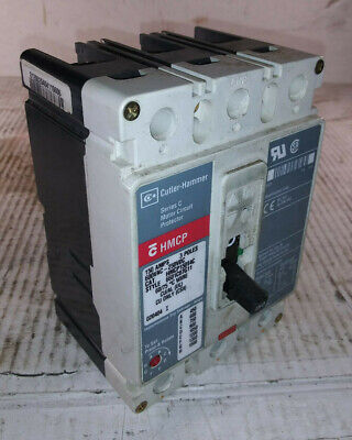 1 Used Cutler-hammer Hmcp150t4c Circuit Breaker 150a 3p Make Offer
