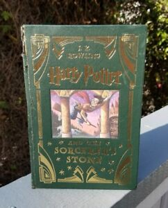 HARRY POTTER AND THE SORCERE'RS STONE Collector's Edition Leather 1st ed.