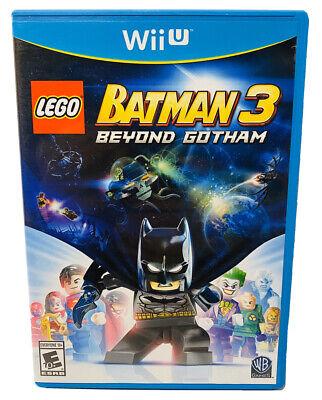 LEGO Batman 3: Beyond Gotham - Wii U Complete Free Fast Shipping