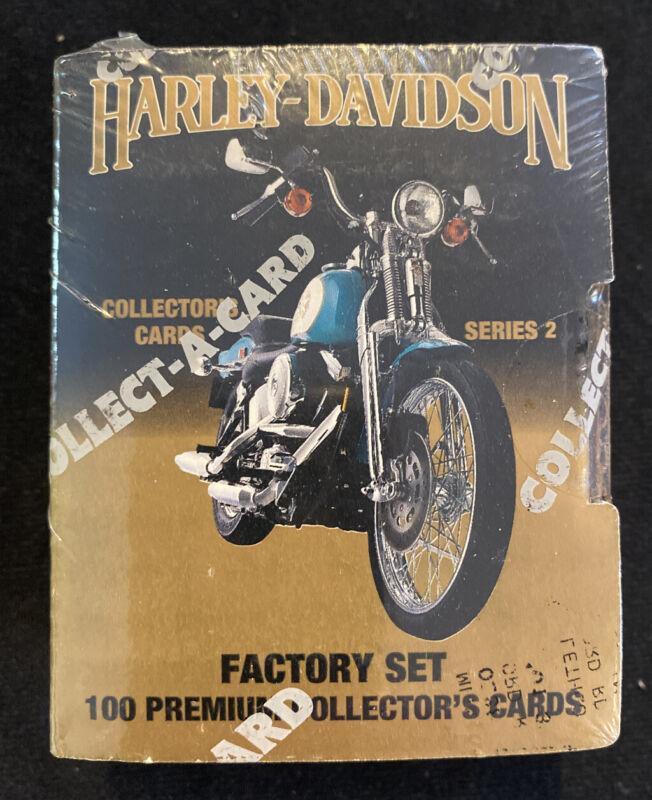 Harley-Davidson Collector Cards Series 2 Factory Set 100 Premium Hologram NEW