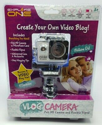 Vlog Camera Explore One Full HD with Flexible Tripod
