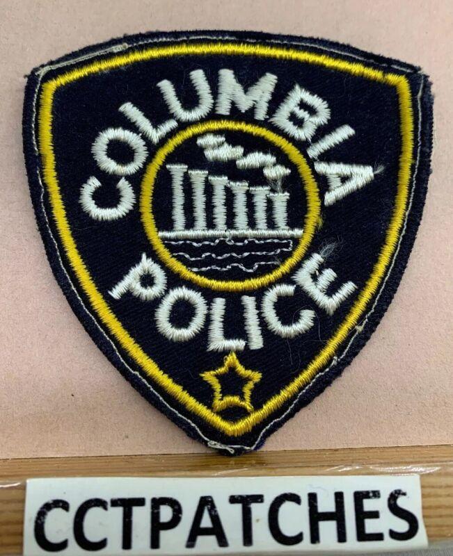 VINTAGE COLUMBIA, MISSOURI POLICE SHOULDER PATCH MO