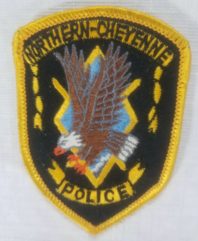 Northern-Cheyenne Montana Police Department Patch
