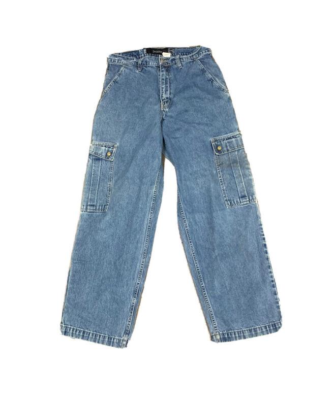 VTG 90's Levis SilverTab Cargo Skate Grunge Jeans Size 30 X 32
