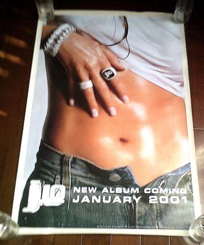 "Rare: JENNIFER LOPEZ  ""J.Lo "" Original Pre -Album Promo Poster- 2000"