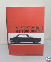 Uso E Manutenzione Alfa Romeo Gt 1300 Junior Scalino Cruscotto A Due Gobbe 70-71 - alfa romeo - ebay.it