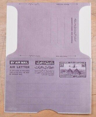 MayfairStamps Egypt Pyramids 25 Mills Landscape Mint Stationery Aerogramme wwo79