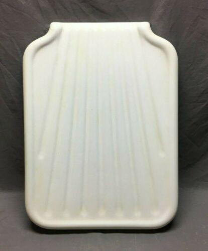 Vintage Cast Iron White Porcelain Sink Extension Richmond Drainboard  256-20B