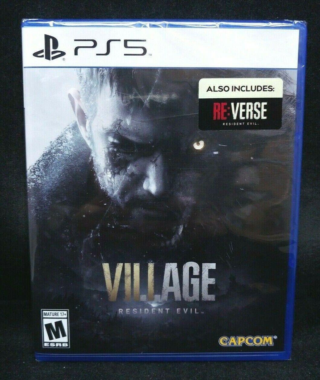 Resident Evil VIII (8) Village (PS5) BRAND NEW / Region Free