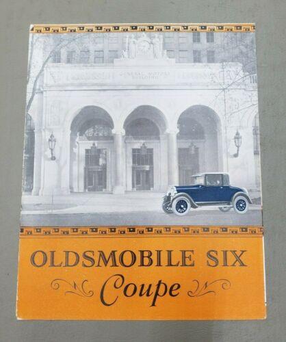 1926 Oldsmobile Coupe Sales Folder