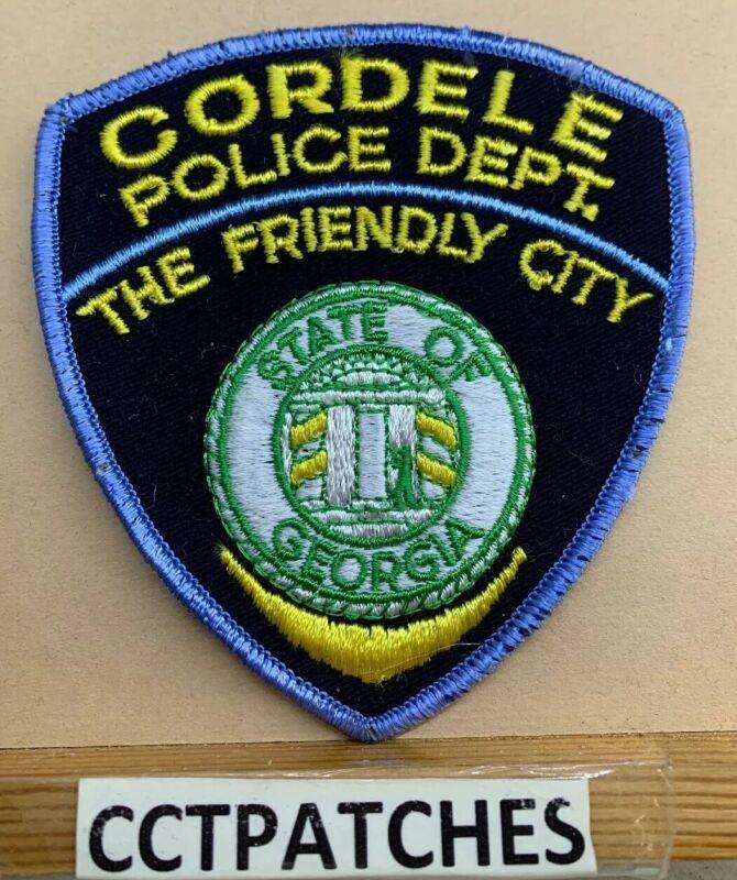 CORDELE, GEORGIA POLICE SHOULDER PATCH GA
