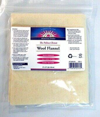 Wool Flannel size 12 x 27 The Palma Christi Hermitage 1 pkg  1745 []