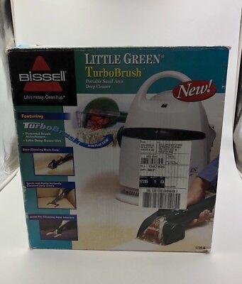 (Bissell Little Green Turbo Brush Portable Carpet Upholstery Cleaner 1720-5)