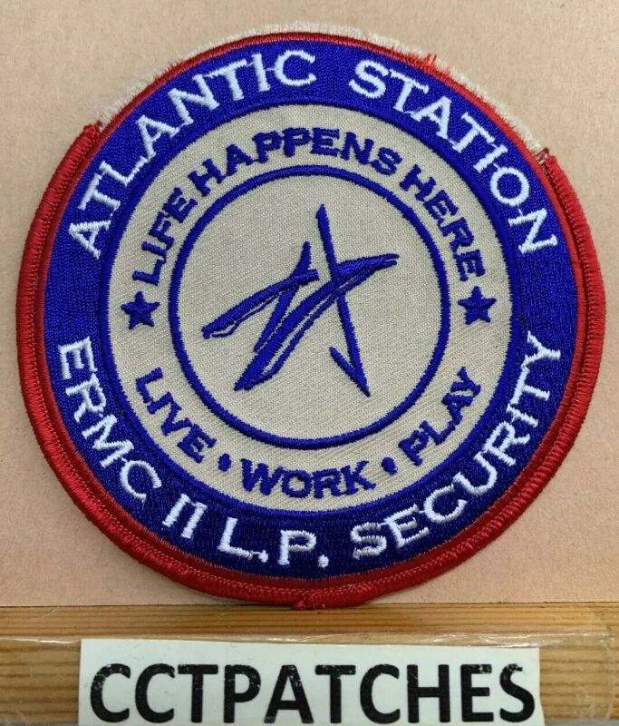 ATLANTIC STATION, GEORGIA ERMC II SECURITY (POLICE) SHOULDER PATCH GA