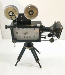 Unique Film Camera Clock! 19 Inches Tall, 12 Inches Wide! In Excellent Condition