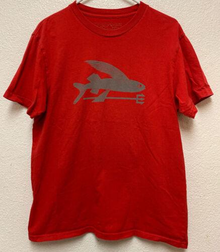 Patagonia Men's Flying Fish Organic Cotton T-Shirt