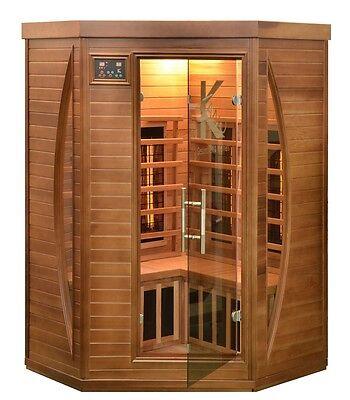 Sauna Infrarotkabine Infrarot Wärmekabine Infrarotsauna  Zeder  Zedernholz   NEU