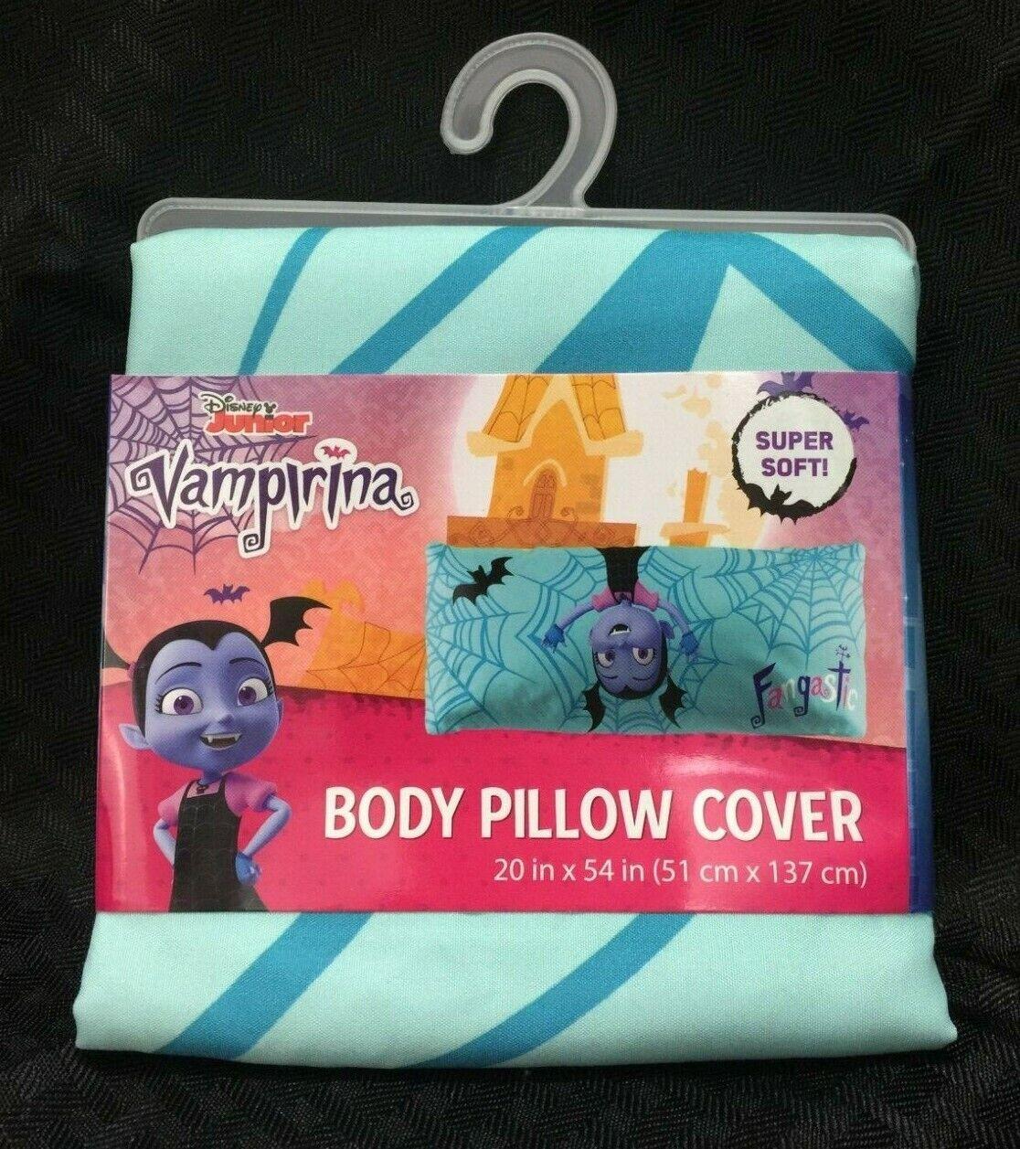 "Vampirina Disney Junior Body Pillow Cover 20"" x 54"" Fangasti"