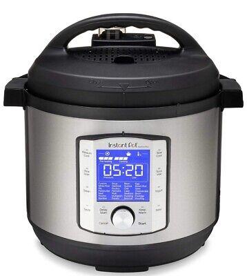 Instant Pot Duo Evo Plus 9-in-1 Electric Pressure Cooker, Sterilizer 6qt