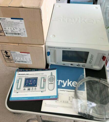 Stryker 450-000-000 CrossFlow Arthroscopy Pump with Cassettes