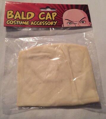 BALD CAP - Natural Latex - Skinhead Costume - Costume Bald Cap