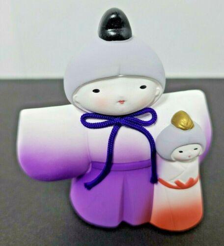 Japanese 4 inch Hina Ningyo Clay Dolls Day March 3
