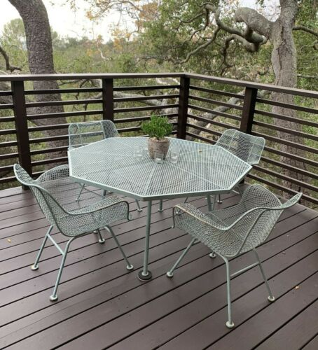 Russell Woodard Sculptura Patio Set Mid Century Iconic Design