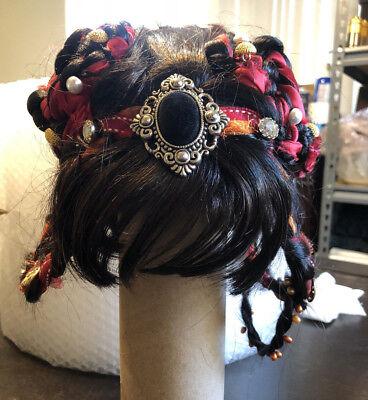 Womens Braided Short Hair Wig Brown Hair - Halloween Cosplay Costume (Halloween Costumes Short Brown Hair)