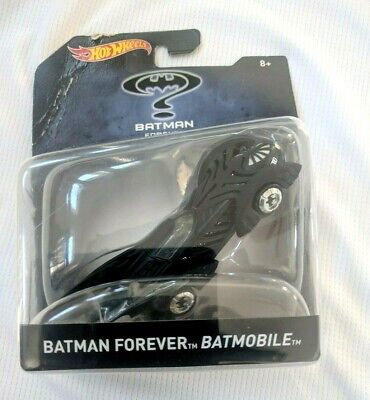 "NEW! Hot Wheels BATMAN FOREVER BATMOBILE 5"" Car 2015"