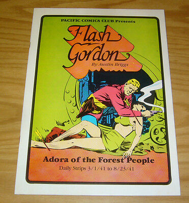 Pacific Comics Club: Flash Gordon #4 VF- adora of the forest people - daily