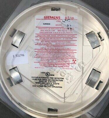 Fire Alarm Siemens Ili-1a Smokefire Detector New Free Shipping