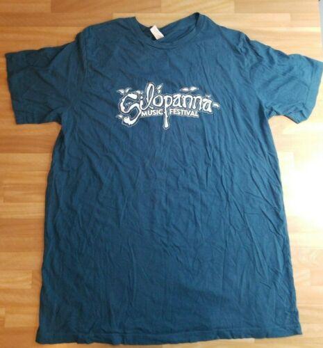 Silopanna Music Festival 2014 Flaming Lips Dashboard Confessional T Shirt  2XL