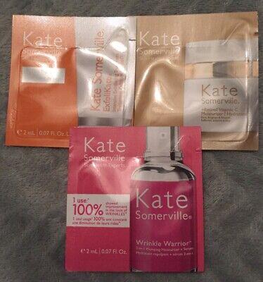 Kate Somerville Samples Exfolikate, +Retinol Vitamin C and Wrinkle Warrior