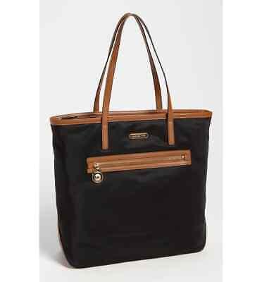Michael Kors Kempton Black Nylon Tote Handbag