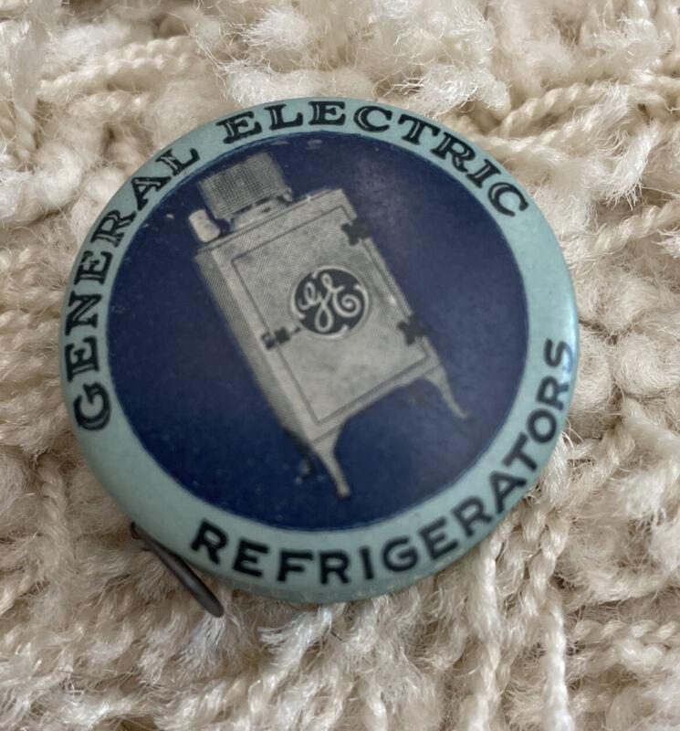 Vintage General Electric GE Refrigerator Cloth Tape Measure — Pocket Size