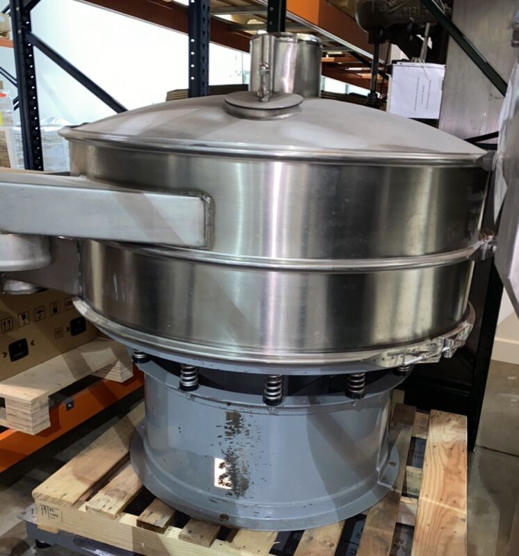 "Sweco, Macon Stainless 48"" Single Deck Screener. Make Offer"