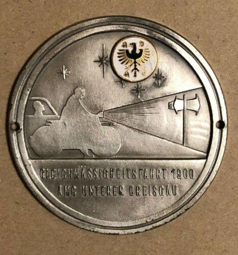German Badge: GLEICHMASSIGKEITSFAHRT 1960 AMC UNTERER BREISGAU
