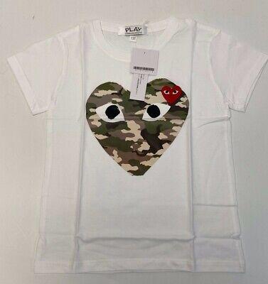 Play Comme Des Garçons Girls Short Sleeve T-Shirt Size M #52A