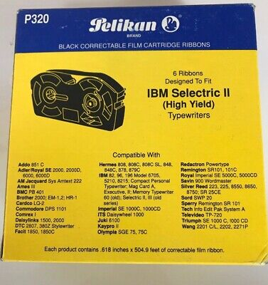 Pelikan P320 Ibm Selectric Ii High Yield Correction Film Ribbon