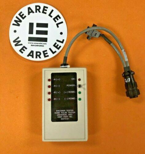 Universal Instruments UIC Encoder Tester Home Pulse Tester 43274101