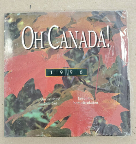 1996 Oh Canada! Uncirculated Coin Set
