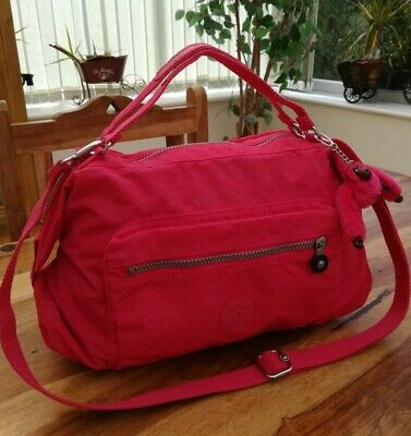BARGAIN BEAUTIFUL PINK KIPLING SATCHEL BAG