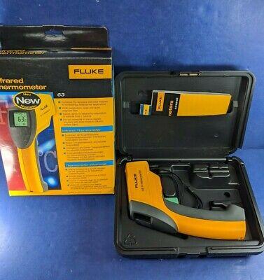 Brand New Fluke 63 Ir Infrared Thermometer Original Box